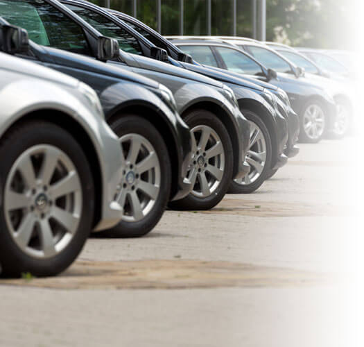 Row of new cars | Auto Insurance